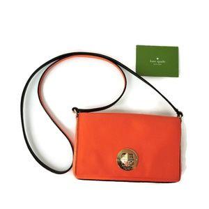 Kate Spade Orange Crossbody small bag